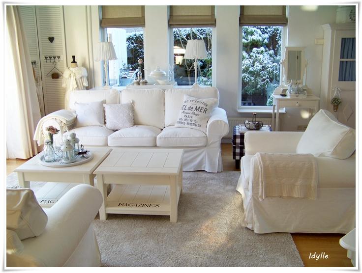 Wonen In Wit : Elly en haar man in hun kleine idylle inspiratie voor je interieur