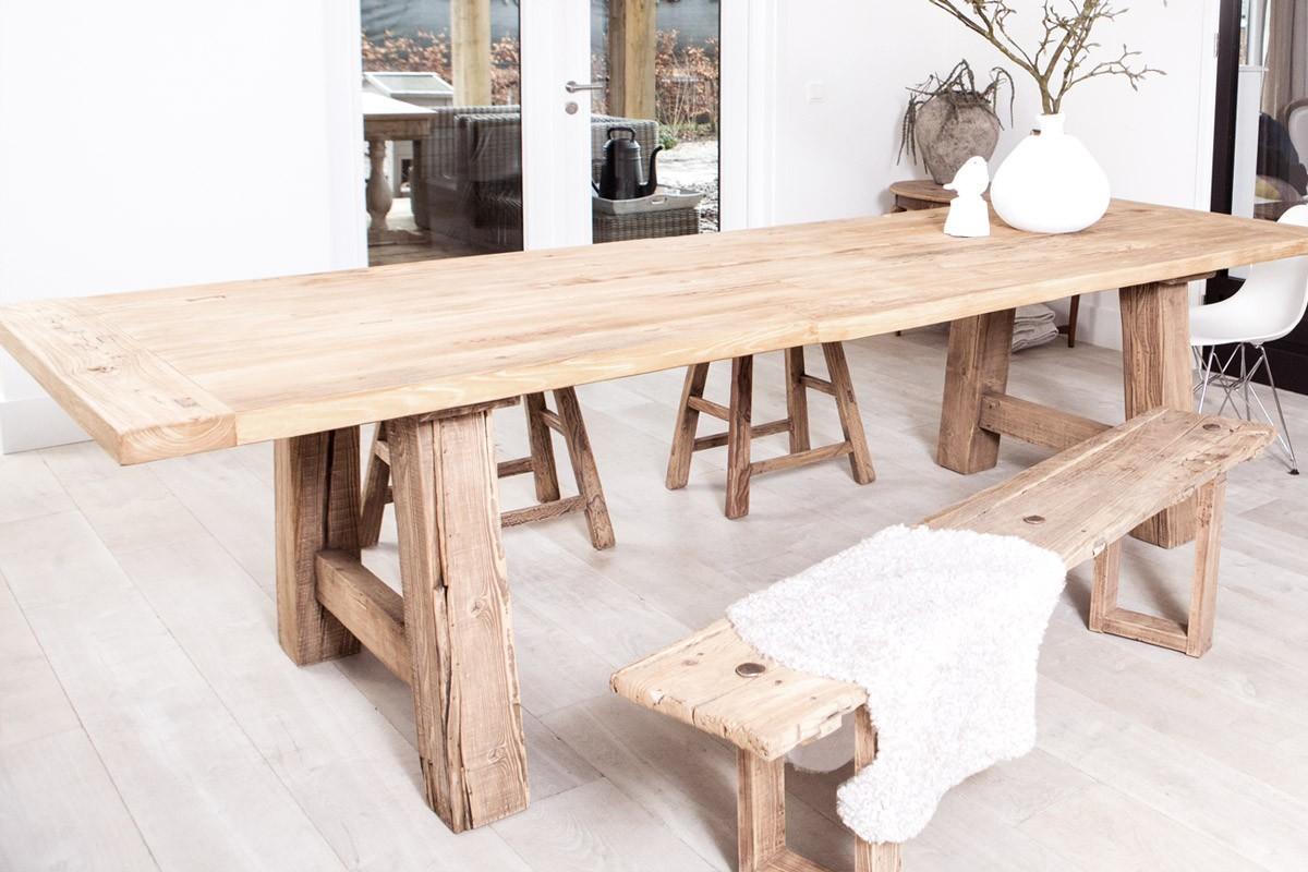 Eikenhout blijft wat er ook verandert inspiratie voor for Hout voor tafel
