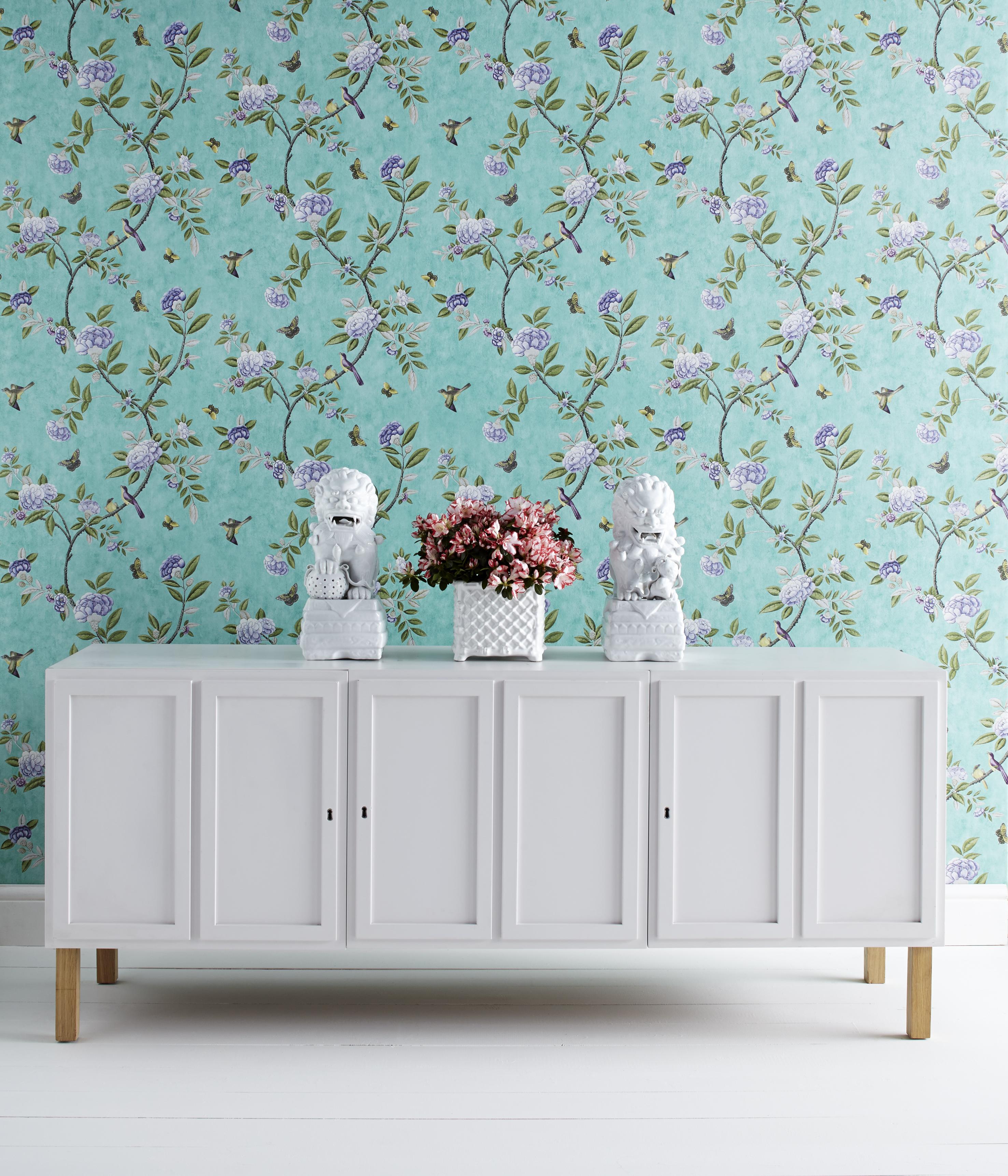 Modern behang inspiratie voor je interieur - Moderne woonkamer behang ...