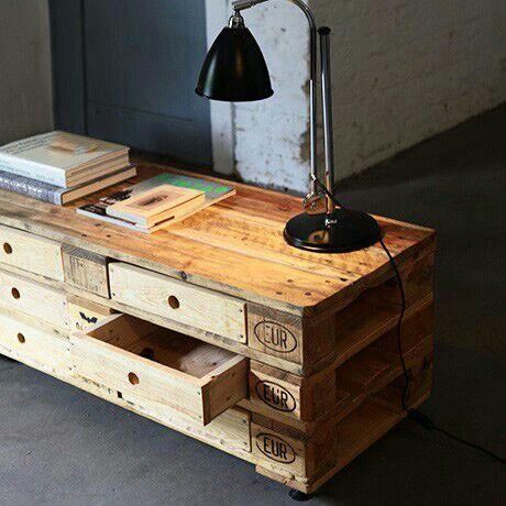 een ladekast van pallets gemaakt inspiratie voor je interieur. Black Bedroom Furniture Sets. Home Design Ideas
