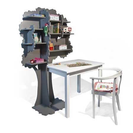 boekenkast voor kinderkamer boekenboom