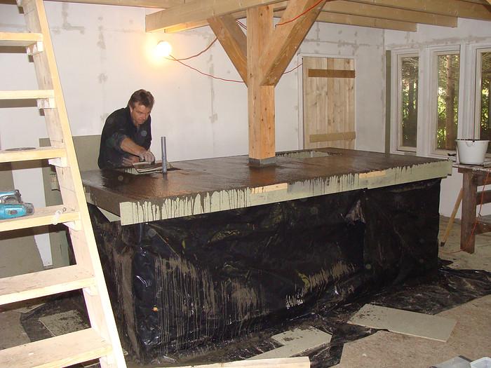 Keuken Van Beton : Betonnen keukens beton van nu