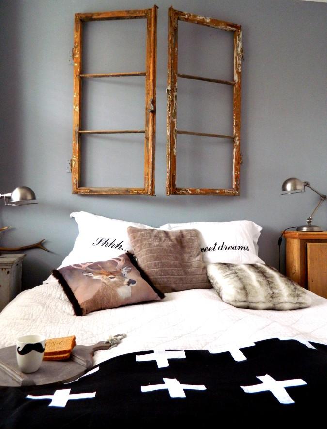 Slaapkamer Wit Hout : ZW&H.NL: Oude (paneel-)deuren..