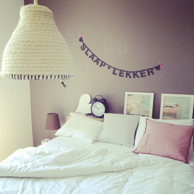 slaapkamer stoer in pastels