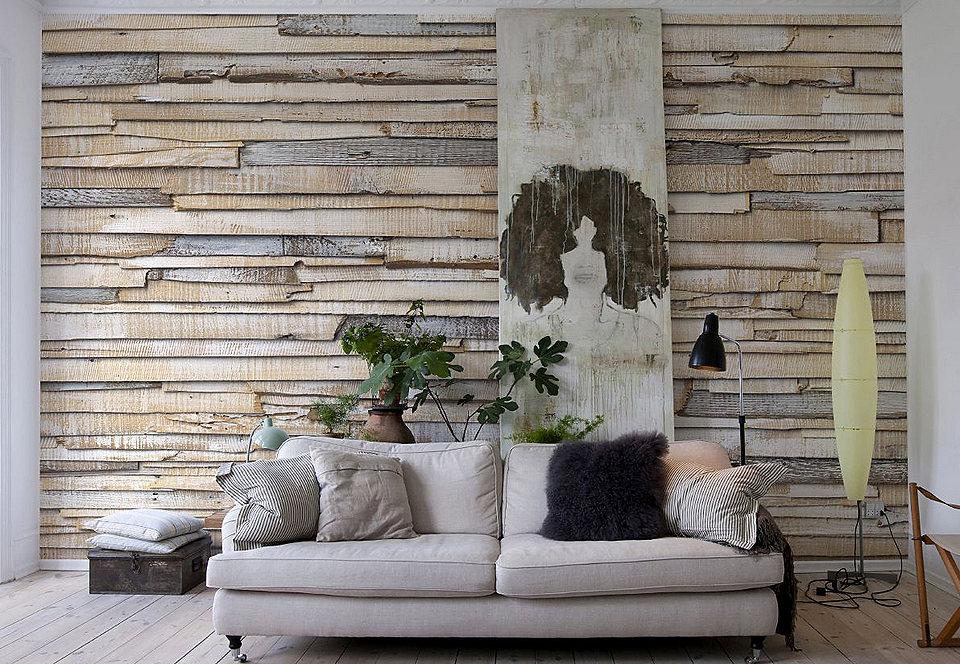 Woonkamer Behang Modern : Inspiratie behang woonkamer