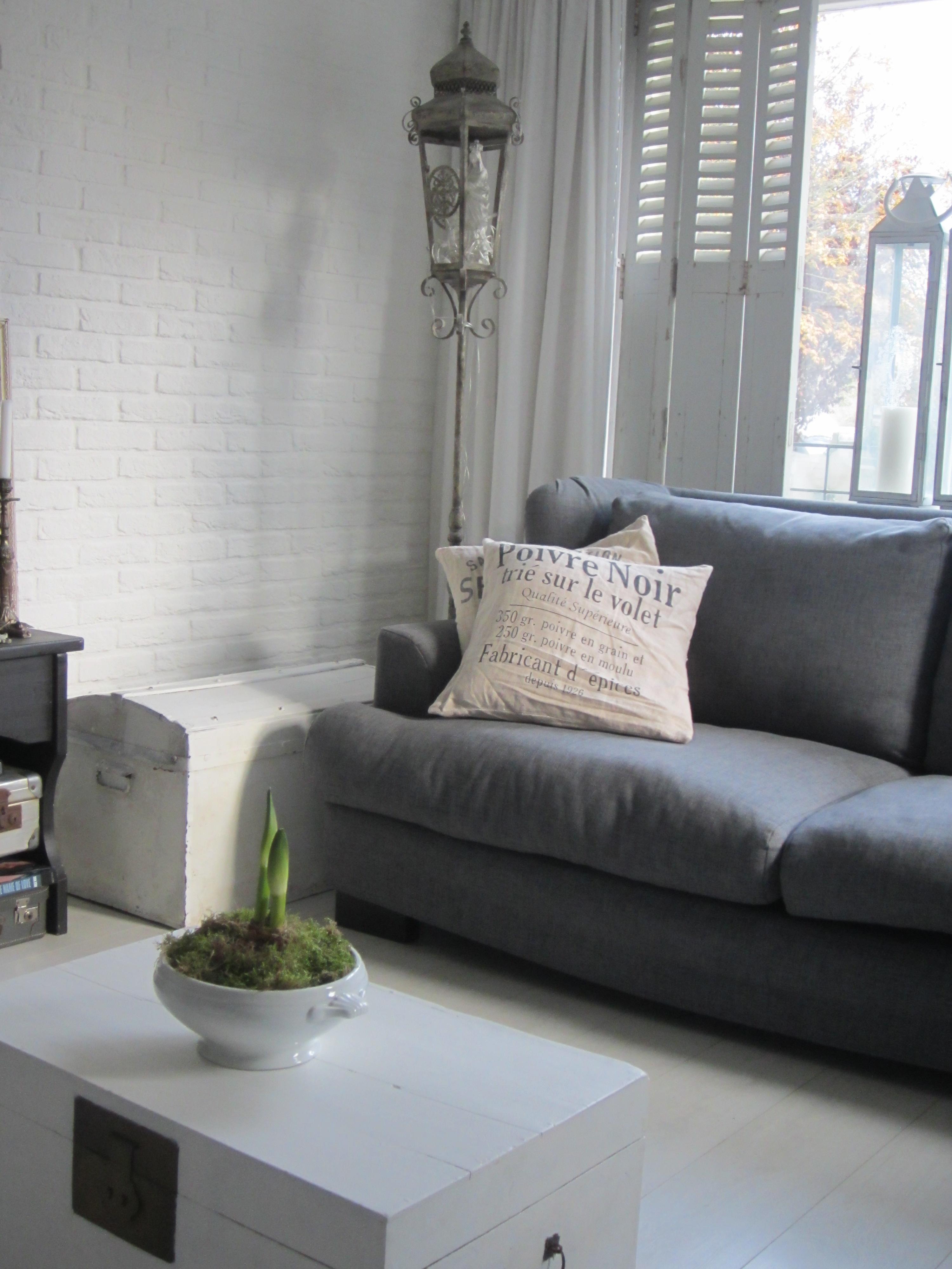 Geke en haar gezin inspiratie voor je interieur Brocante woonkamer