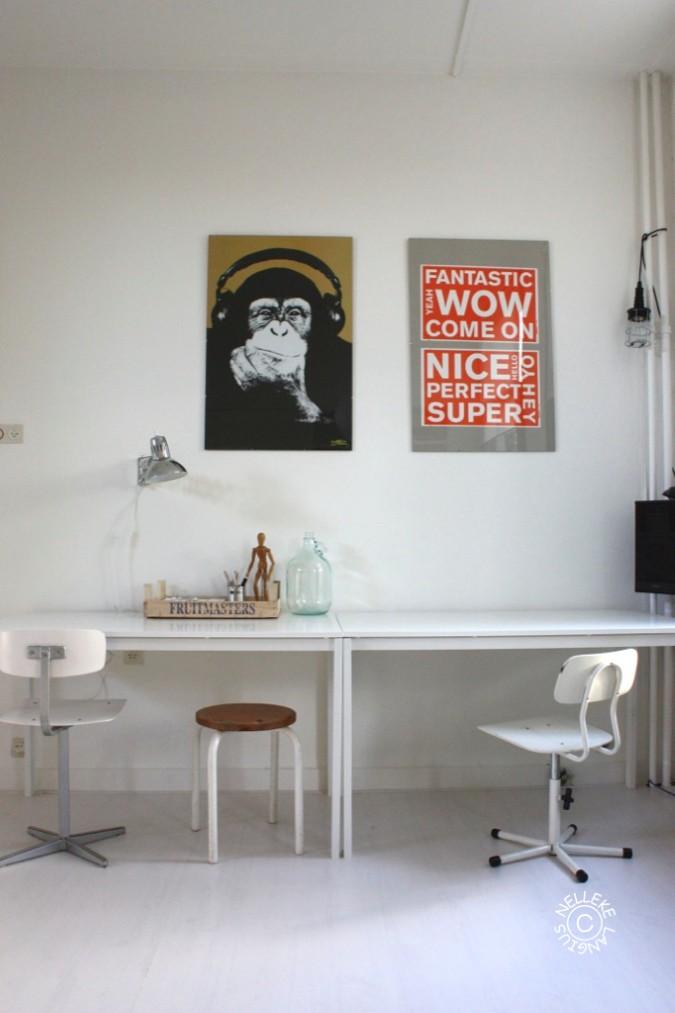 Ruben in zijn studentenkamer in groningen inspiratie for Kamer interieur inspiratie
