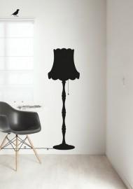 interieursticker staande lamp