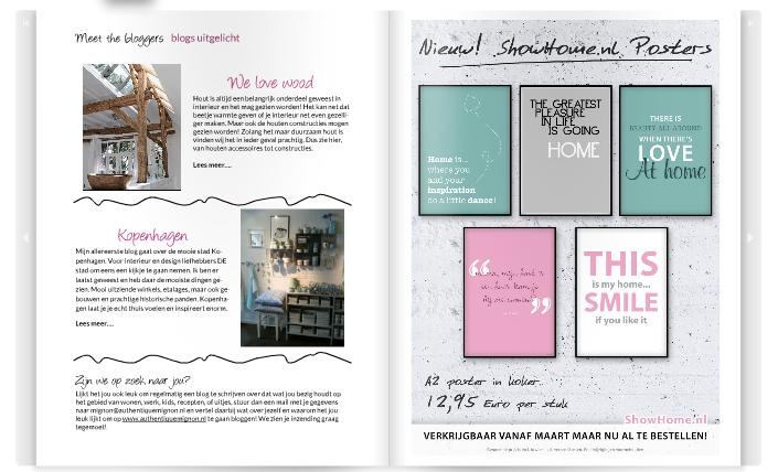 online magazine authentique mignon