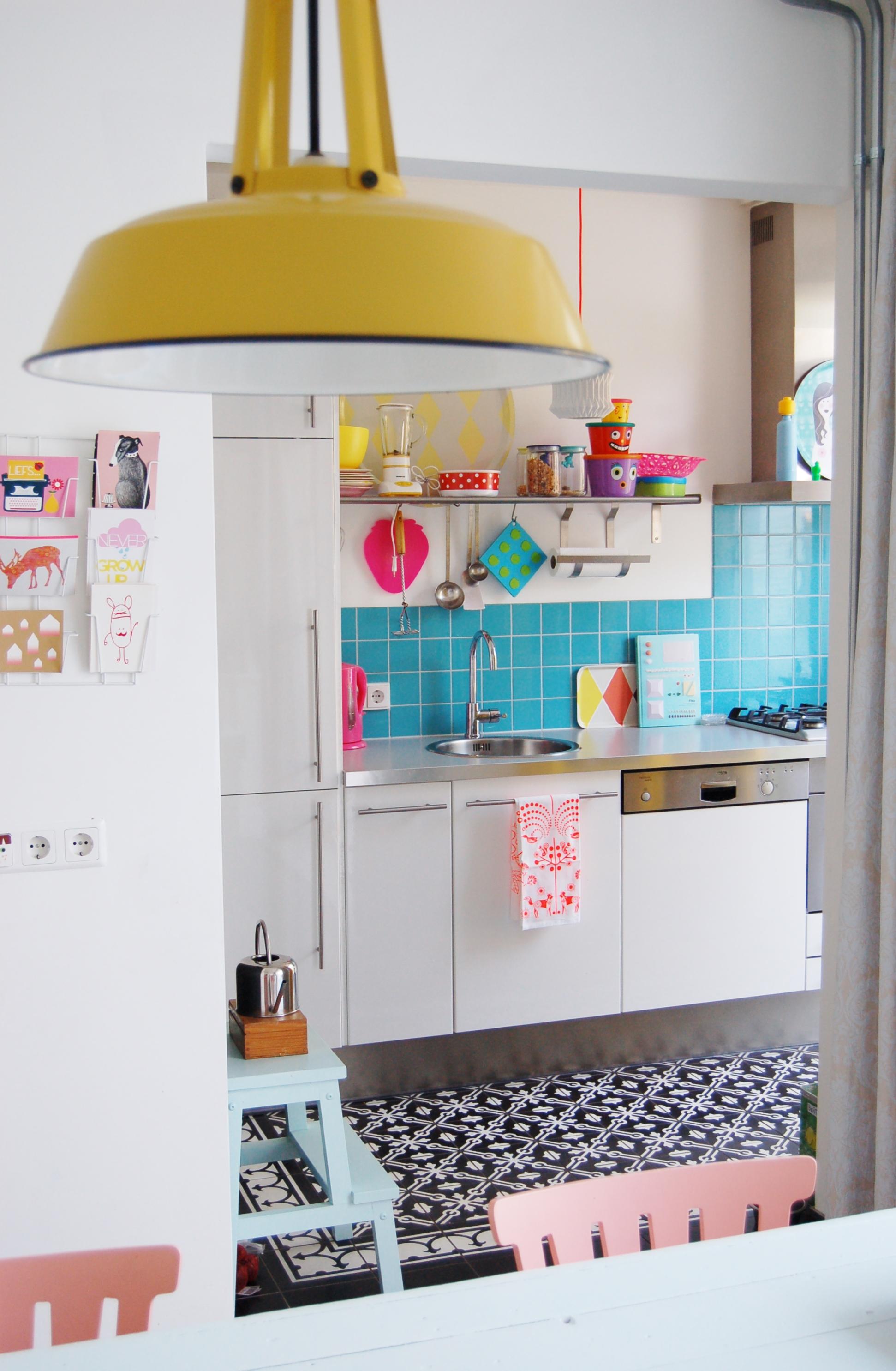 kleurige keuken