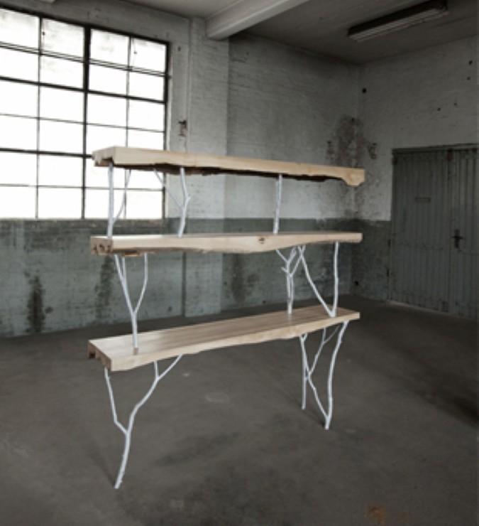 Stoer en puur natuur inspiratie voor je interieur - Badkamer natuur hout ...