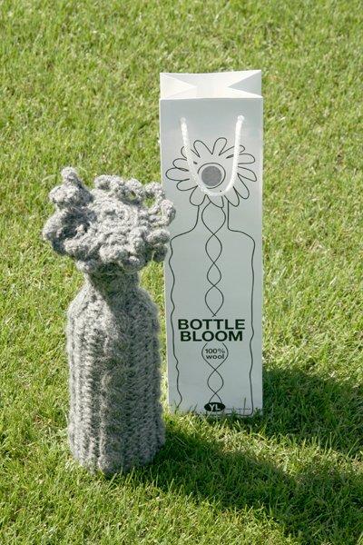 bottle bloom flesdecoratie