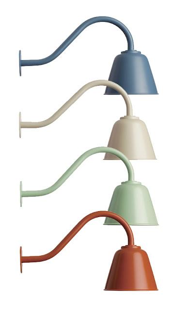 buitenlamp aluminium pastel bell