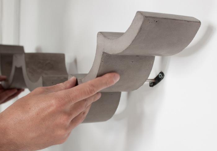 toiletrolhouder van beton inspiratie voor je interieur. Black Bedroom Furniture Sets. Home Design Ideas