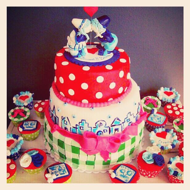 holland taart taart decoreren