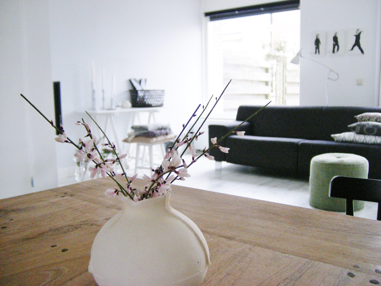 Interieur wit hout