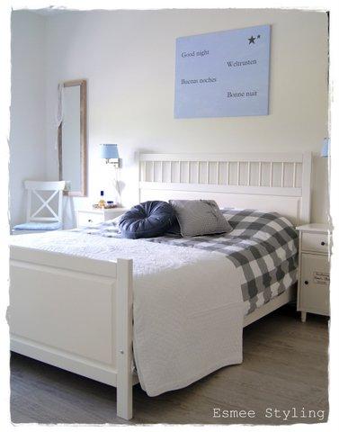 landelijke witte slaapkamer ariadnestijl