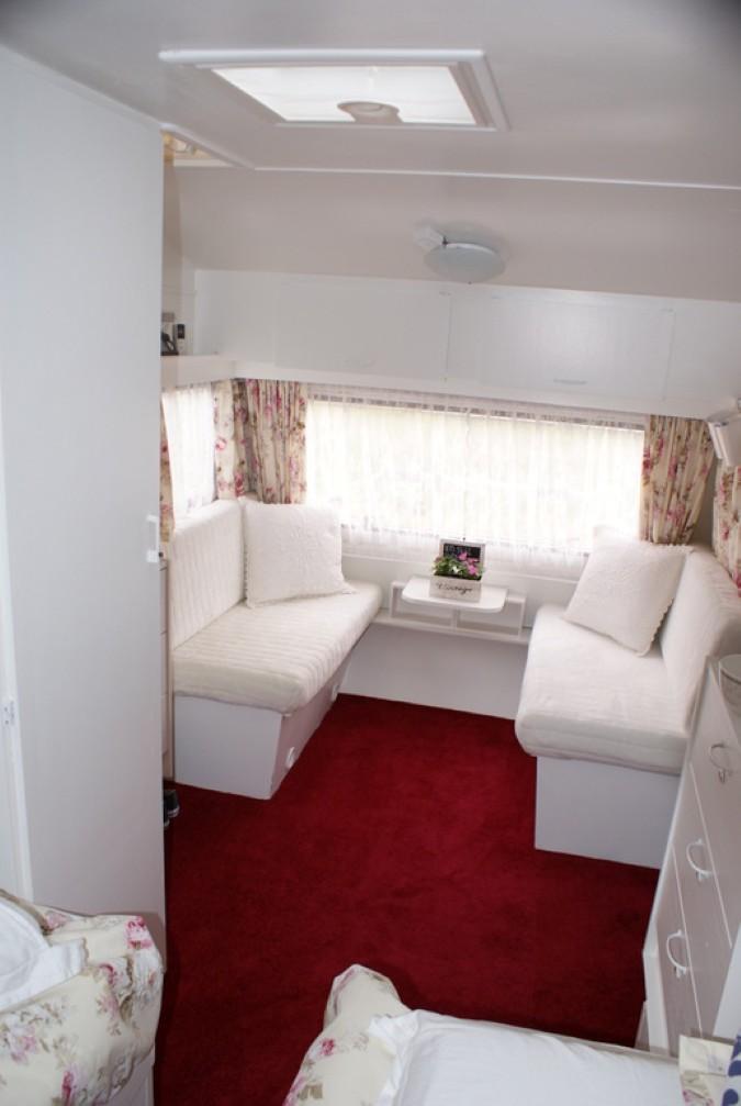 Caravaninterieur Brocantestijl - Inspiratie voor je interieur