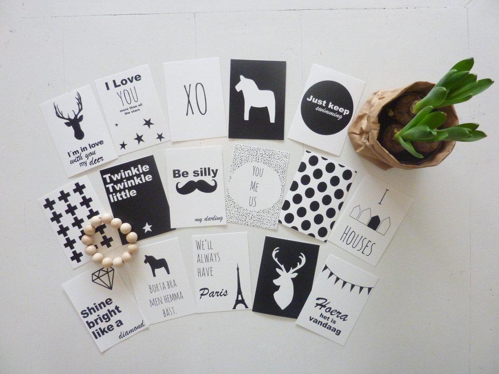 Decoreren met kaarten - Inspiratie voor je interieur