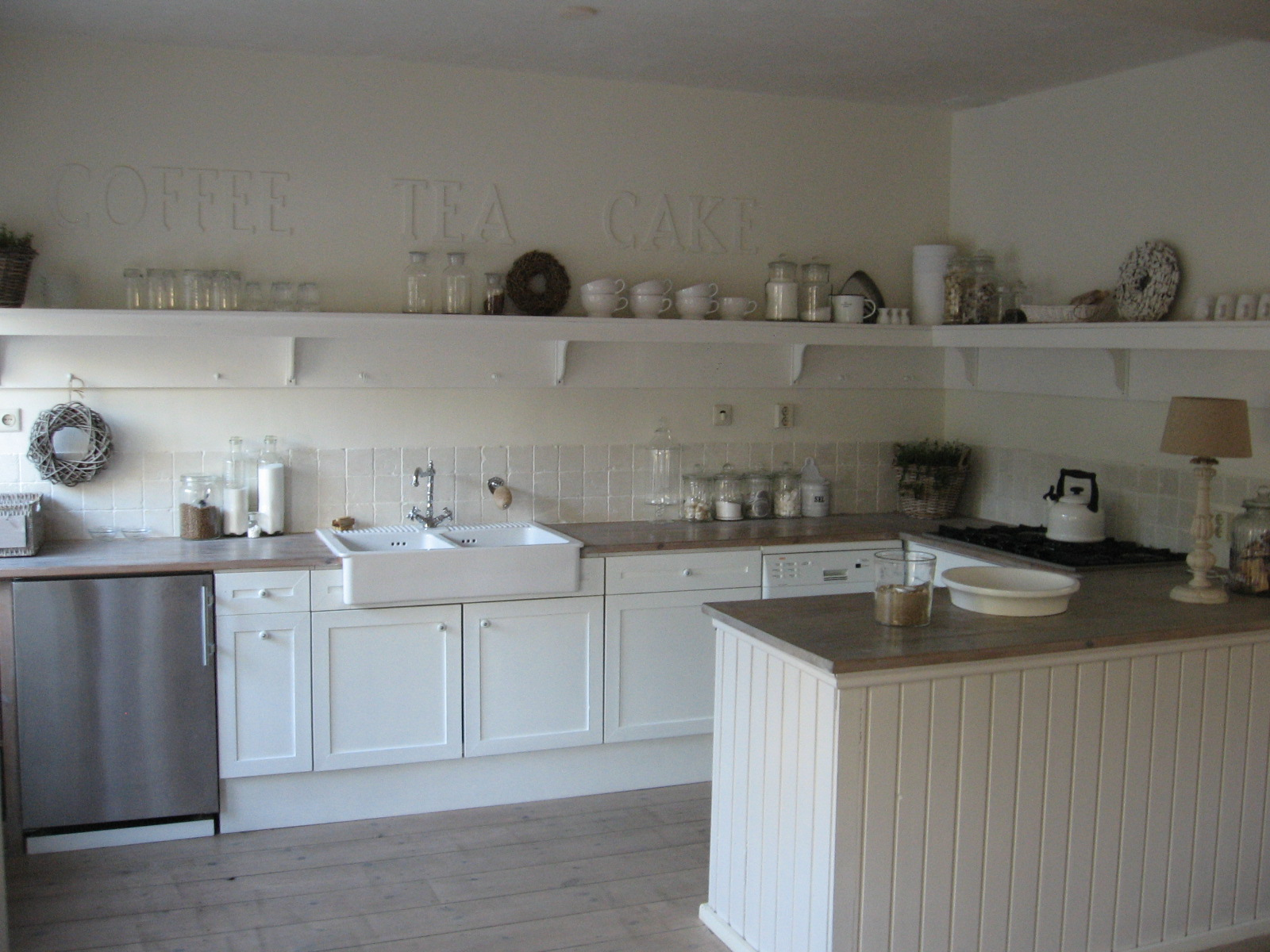 Muurdecoratie - Moderne keuken muurdecoratie ...