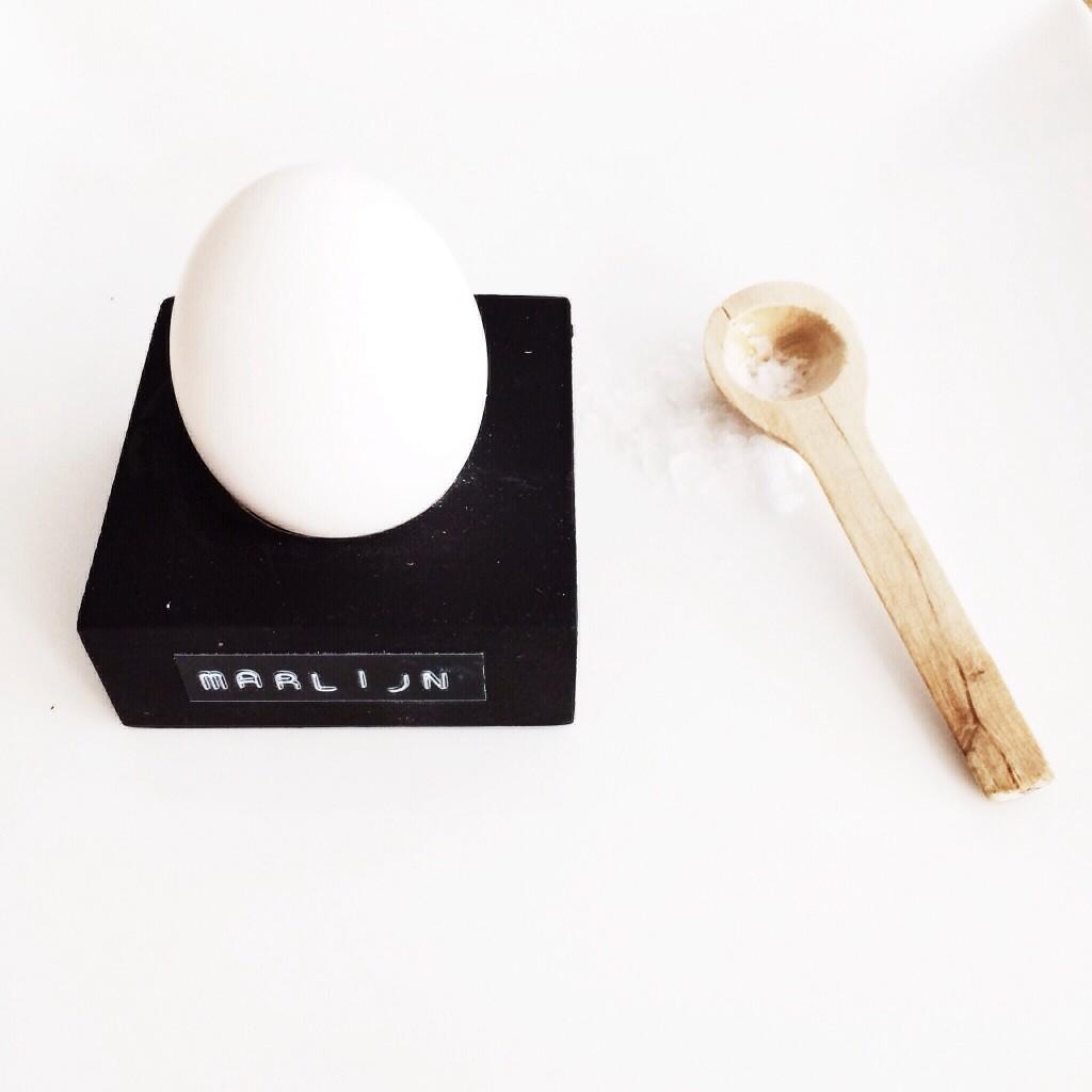 houten eierdopje