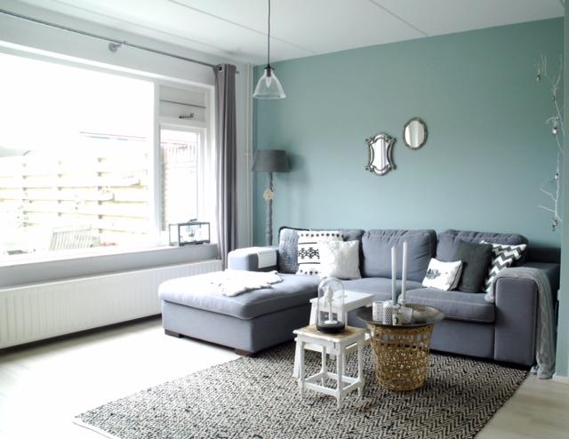 Mirjam en haar gezin 1 inspiratie voor je interieur for Gordijnen babykamer mintgroen