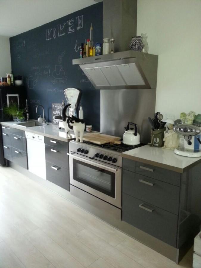 Keuken Zonder Bovenkast : Rechte Keuken Zonder Bovenkastjes : Witte keuken Duitse keukens