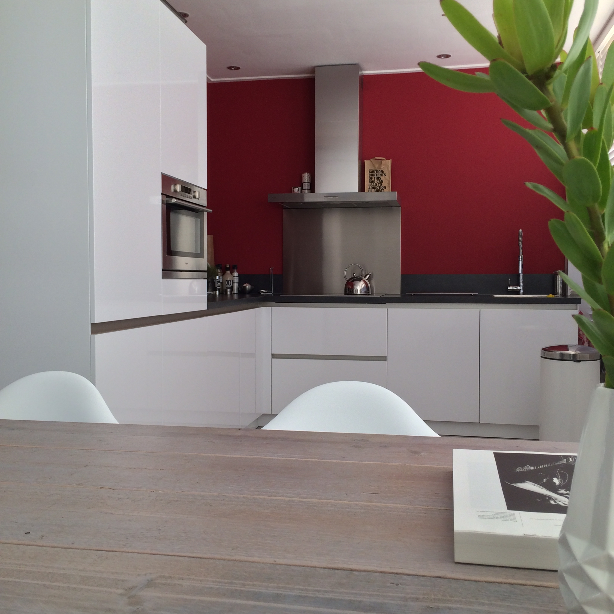 Keuken kleur muur - Kleur witte keuken ...