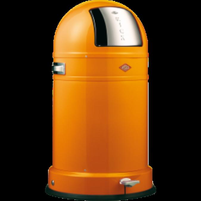 wesco afvalbak oranje
